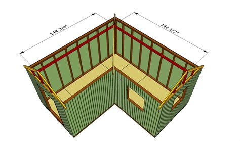 build   shaped roof howtospecialist   build step  step diy plans
