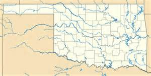 oklahoma rivers map oklahoma river map