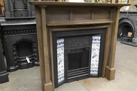 Arts And Crafts Fireplace Surround by 078ws 1085 Arts Crafts Wooden Fireplace Surround