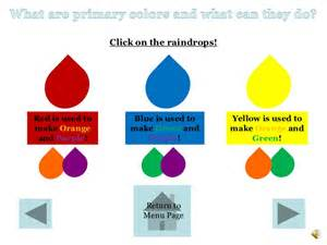 how to make blue color color theory ppt