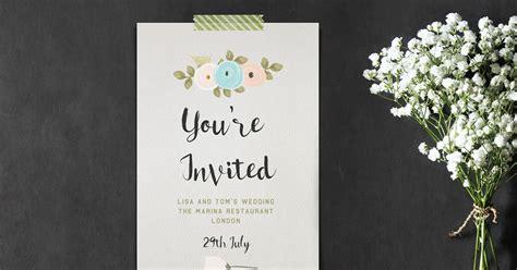 design invitation in photoshop how to create brilliant watercolor invitations in