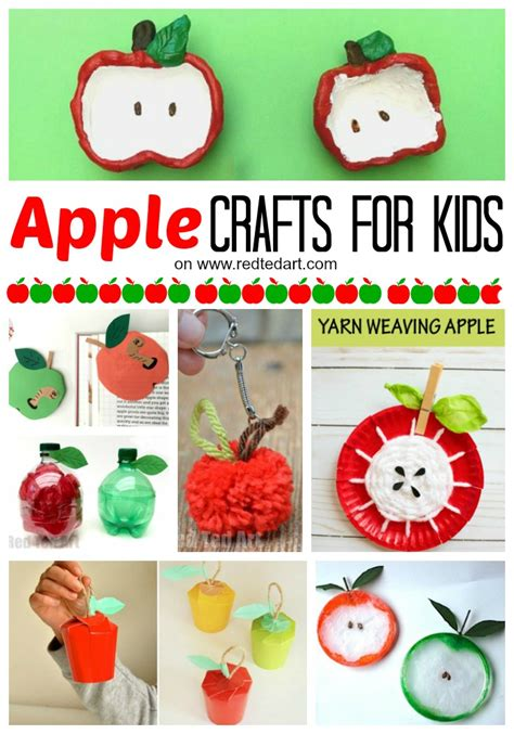 apple crafts for 27 easy apple craft ideas ted s
