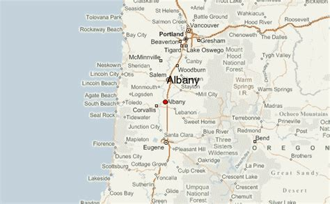 albany oregon location guide