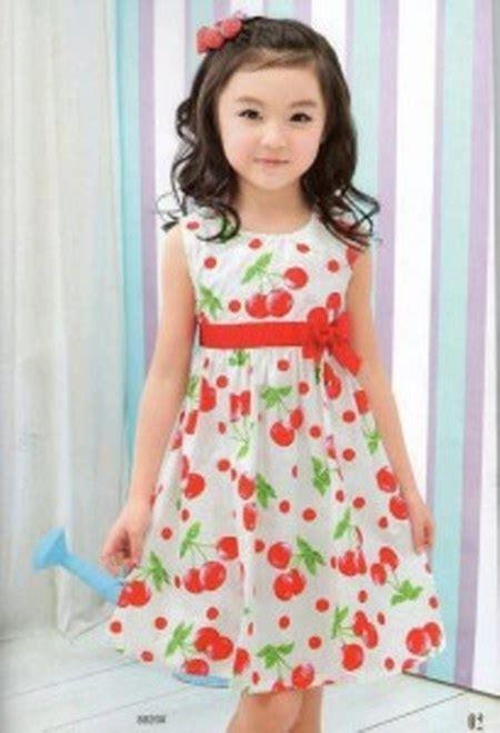 Dress Polkadot Lucu model baju anak perempuan yang lucu dan menggemaskan ide