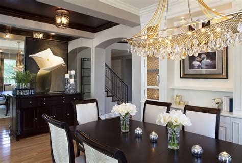 rooms by design glamorous modern dining room robeson design