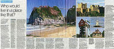 Saturday Telegraph Property Section home sweet home matador non fiction robin whitcomb
