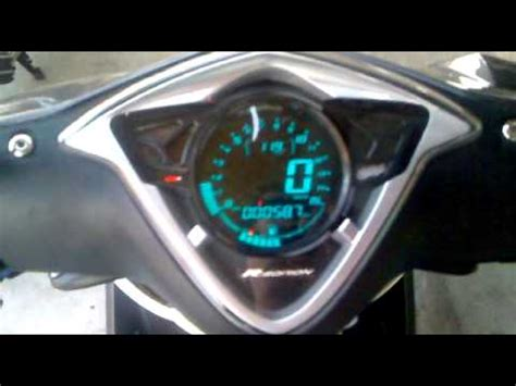 Speedometer Mio J Mio Gt Yamaha convertion of digital speedometer for mio soul 10 by