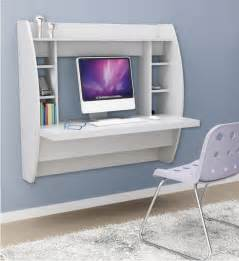 wall hung desk wall mounted desk with storage white in desks and hutches