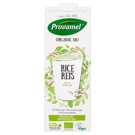 Rice Milk Shop provamel longlife organic rice milk alternative 1l from ocado