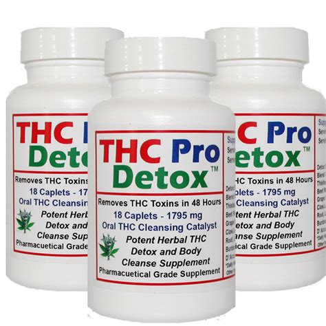 Best Detox Supplements For Thc by Thc Detox