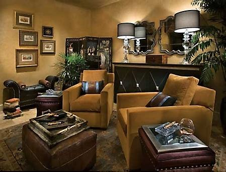 home cigar room gallery designer showhouse picture cigar room
