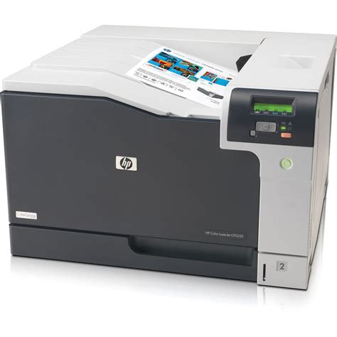 Printer Laser Color hp cp5225n laserjet professional color laser printer ce711a b h