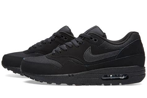 Nike Air Max One Black nike air max 1 essential black sneaker bar detroit