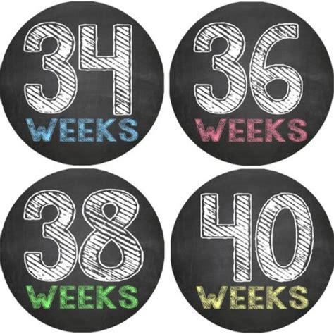 Pregnancy Photo Stickers