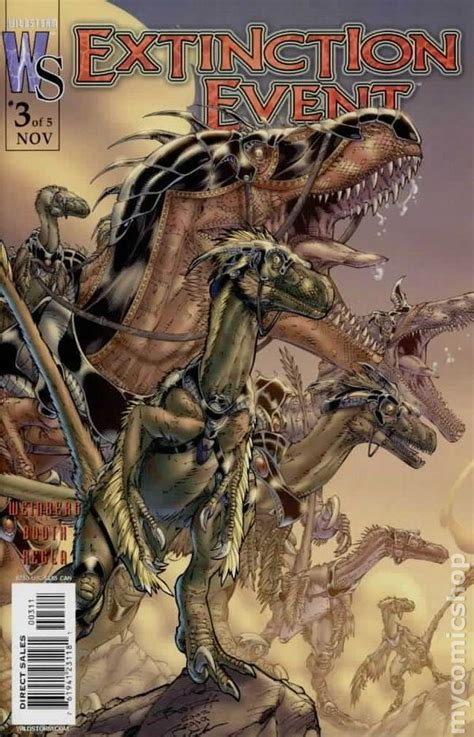 extinction event  comic books