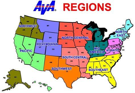 america map regions regionsmap