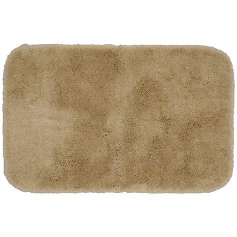 Washable Bathroom Rugs Garland Rug Finest Luxury Taupe 24 In X 40 In Washable Bathroom Accent Rug Pre 2440 18 The