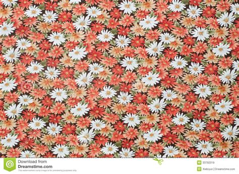 flower pattern textile cottonwood close up antique floral fabric royalty free