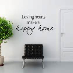 Home Wall Stickers loving hearts make a happy home wall sticker decals