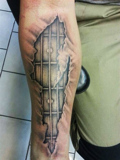 55 guitar tattoo designs and ideas for men and women
