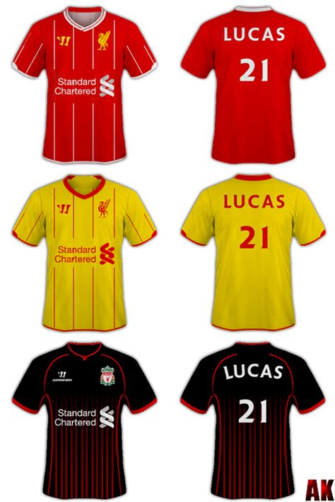 Secondhand Jersey Liverpool Second Retro 2012 Liverpool Fc Retro Shirts By Liverpoolfc8 On Deviantart