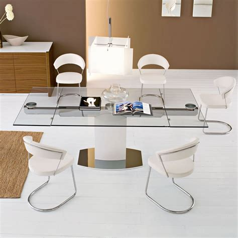 extendable dining room table best fresh extendable glass top dining room tables 18065
