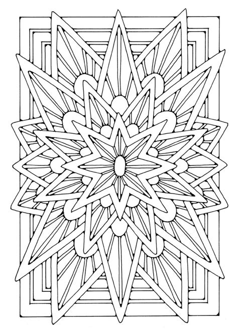 coloring pages for adults star 1000 images about icolor quot mandalas square quot on pinterest