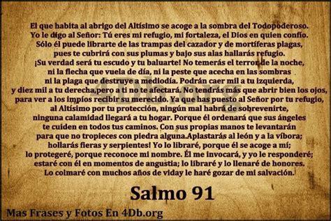 salmo 91 en espanol image gallery salmo 91 espanol