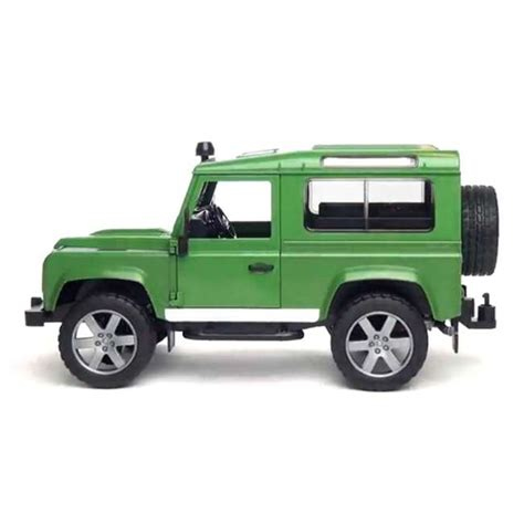land rover bruder bruder toys land rover defender with trailer 02593