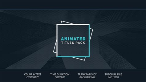 title animation after effects template animated titles corporate after effects templates f5