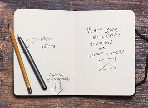 sketchbook free 25 free psd templates to mockup your sketches drawings