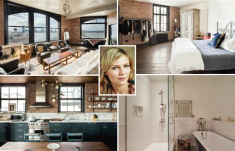 kirsten dunst apartment kirsten dunst celebrity net worth salary house car
