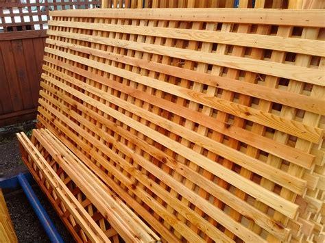 trellis wood strips trellis weatherwise