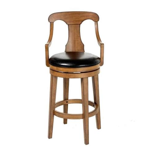 Black Upholstered Bar Stools Fashion Bed C1w010 Albany Wood Bar Stool With Black