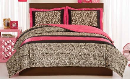 pink cheetah comforter set diary lifestyles new bedding at design dazzle