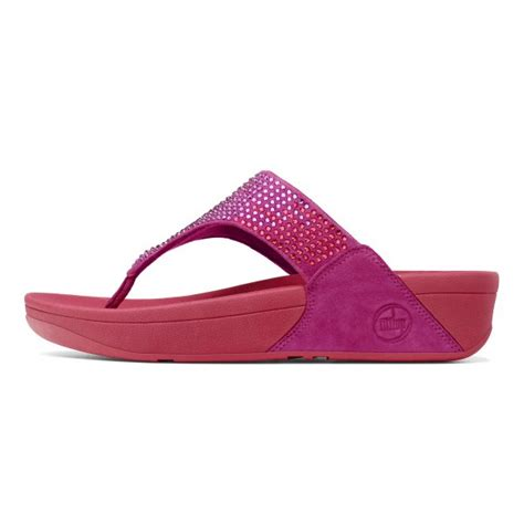 18443 Pink Relax N Casual flare pink sandal
