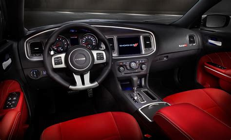 Interior Of A Dodge Charger by Car And Driver