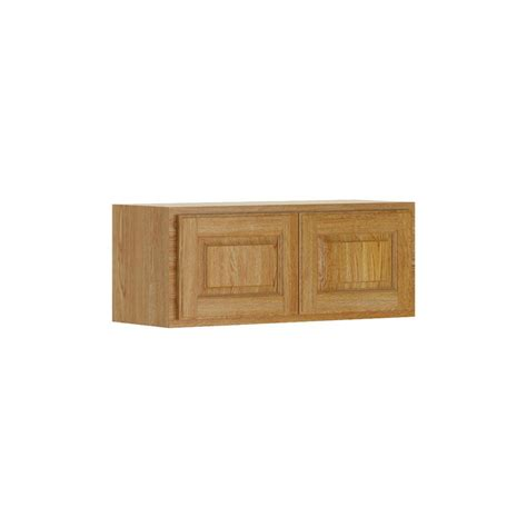 hton bay assembled 30x18x12 in wall flex cabinet with