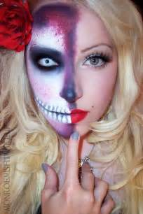 special effects halloween makeup 21 creepy and cool halloween face painting ideas