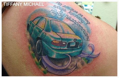 honda tattoos honda civic memorial tattoo tattoos i did pinterest
