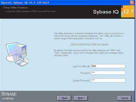 Sybase Developer by Sybase Iq 12 7 安装截图 Csdn博客