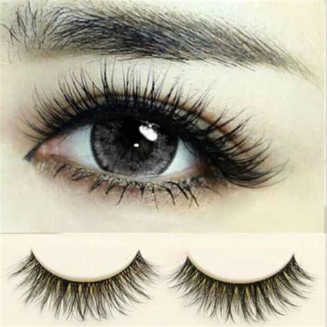 Handmade Makeup - lot 10 pairs eye lashes makeup handmade thick