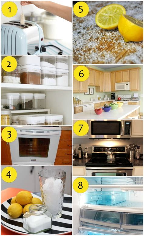 kitchen cleaning tips 65 cleaning tips and ideas