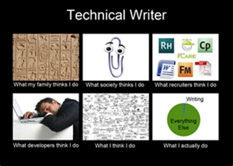 Communication Major Meme - how to tell a technical writer from a marketing writer