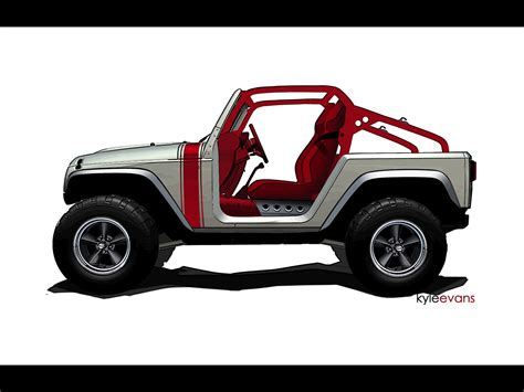 safari jeep drawing 2011 jeep mopar studies moab easter jeep safari wrangler