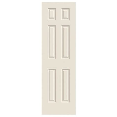 jeld wen 36 in x 80 in colonist white painted textured jeld wen 24 in x 80 in colonist primed smooth molded