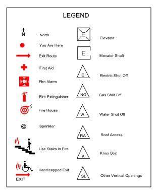 Extinguisher Symbol On Floor Plan by Image Result For Symbol Legend Plans Construction Docs In 2019 Escape Plan Site Plans How