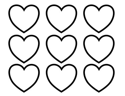 free coloring pages of hearts