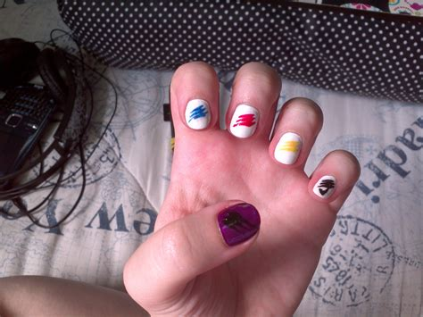Random Line Blouse 24373 nail designs top 10 easy pretty designs for and nails