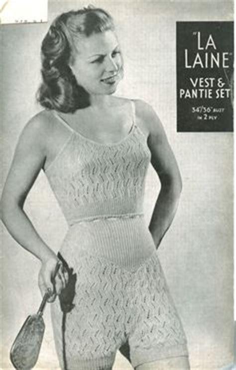 vintage underwear pattern free 1000 images about knitted underwear on pinterest